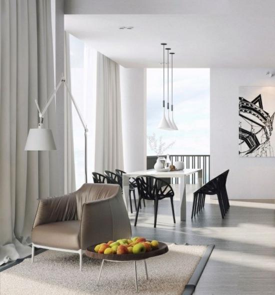coole moderne interior designs apfel extravagant ausstattung
