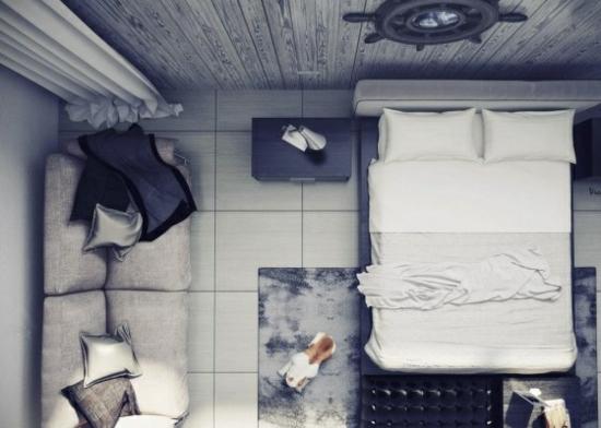 coole moderne interior designs gemütlich grau schlafzimmer