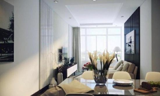 coole moderne interior designs tisch glas vase blumen