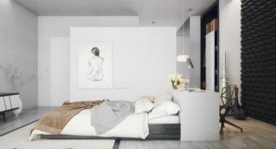 coole moderne interior designs weiße einrichtung
