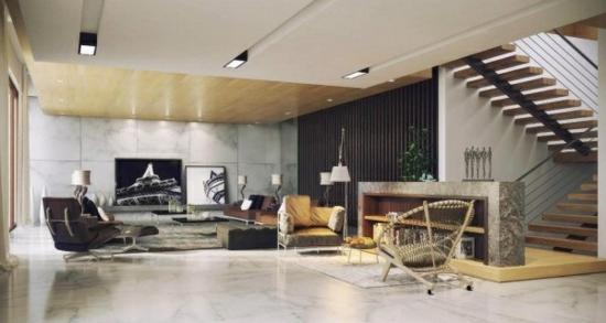 coole moderne interior designs wohnzimmer weich teppich sofa sessel