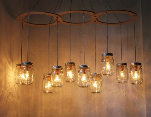 Coole Leuchten Glas Pendelleuchte Modern
