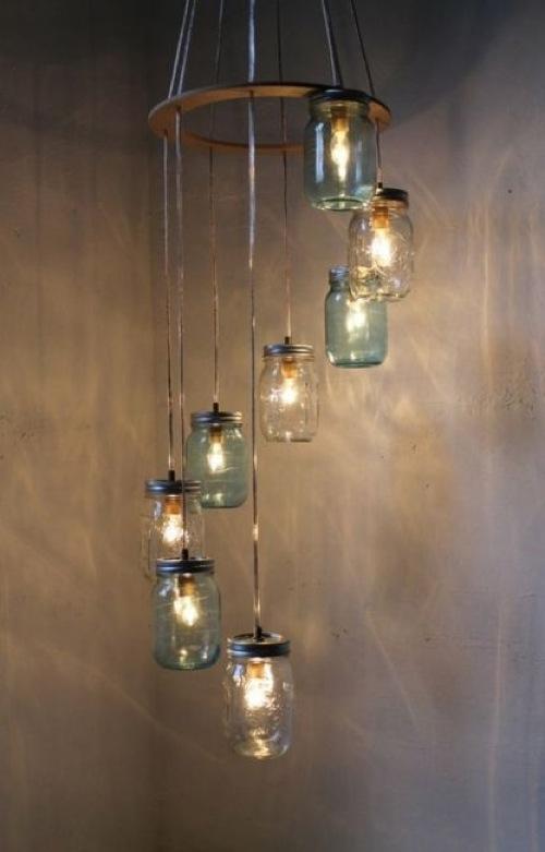 coole moderne einweckglas leuchten minimalistisch glas