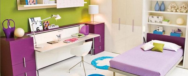 coole praktische schlafsofas kleine wohnungen pastellfarben