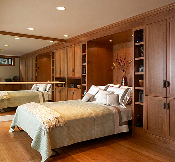 coole praktische schlafsofas kleine wohnungen schlafzimmer design