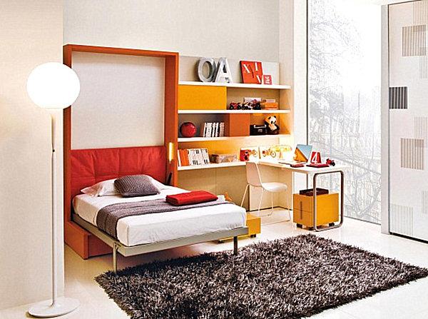 coole praktische schlafsofas kleine wohnungen weich teppich