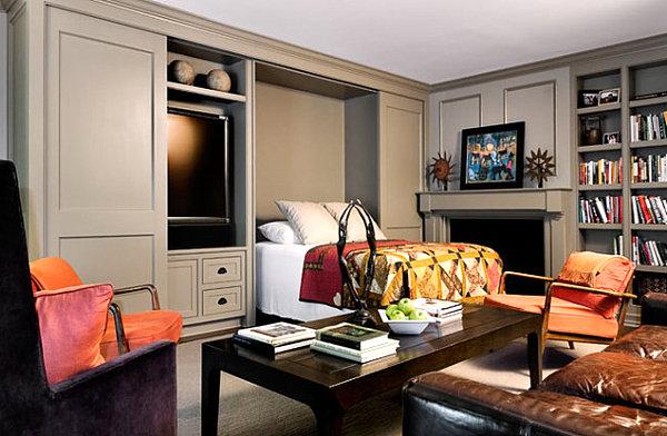 coole praktische schlafsofas kleine wohnungen wohnzimmer