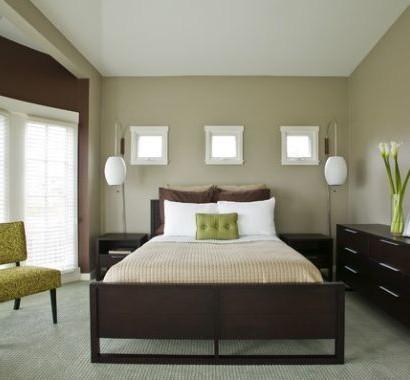 43 coole schlafzimmer farbpalette tipps - bunter blickpunkt - Schlafzimmer Lila Braun