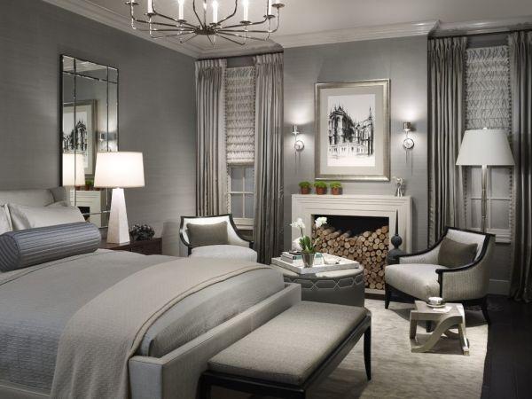 43 coole schlafzimmer farbpalette tipps - bunter blickpunkt - Schlafzimmer Grau Weis