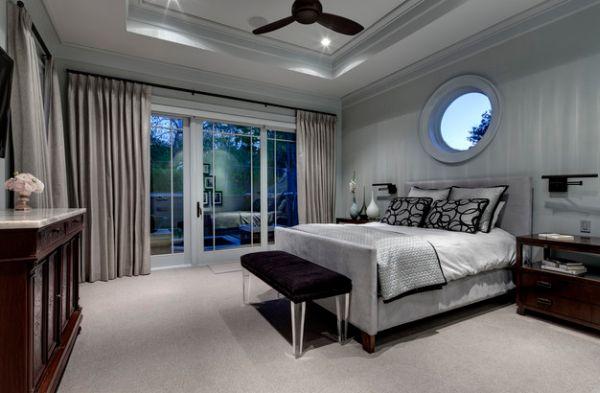 43 coole schlafzimmer farbpalette tipps - bunter blickpunkt - Schlafzimmer Schwarz Silber