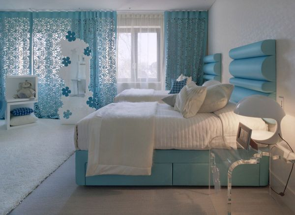 Schlafzimmer Blaugrau Interessant : Coole schlafzimmer farbpalette tipps bunter blickpunkt