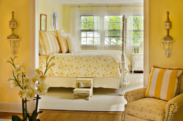 43 coole schlafzimmer farbpalette tipps - bunter blickpunkt, Schlafzimmer design