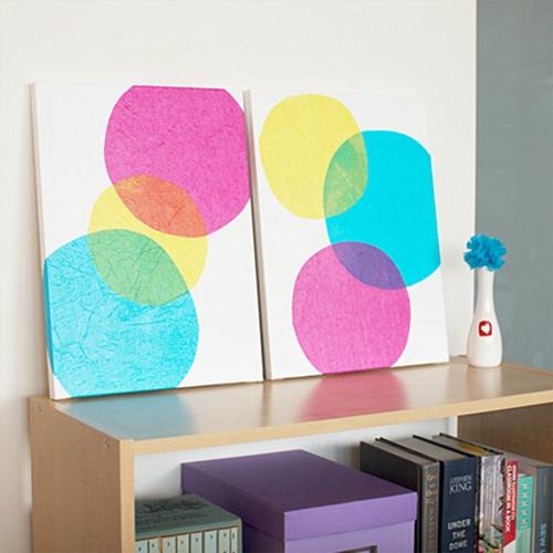 Coole Wand Dekoration Ideen – verwenden Sie vorhandene Materialien ...