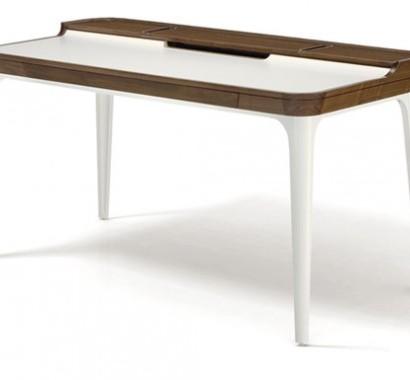 Schreibtisch design holz  Cooles Schreibtisch Design im Zimmer für Teenies