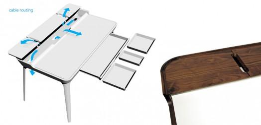 cooles schreibtisch design kinderzimmer idee möbel