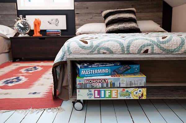cooles trendy teenager zimmer f r jungen moderne einrichtung. Black Bedroom Furniture Sets. Home Design Ideas