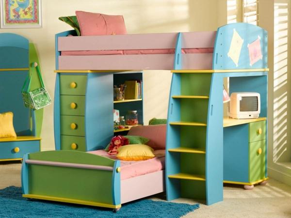 Etagenbett Mit Regal Treppe : Wählen sie das richtige hochbett mit treppe fürs kinderzimmer