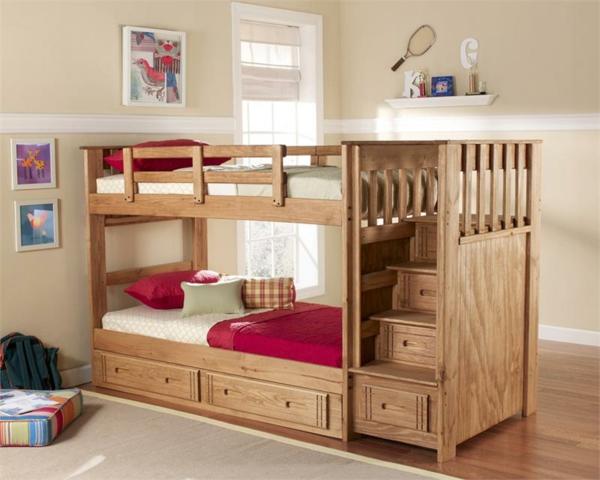 Etagenbett Treppe : Wählen sie das richtige hochbett mit treppe fürs kinderzimmer