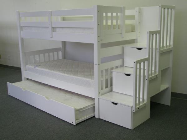 das richtige hochbett mit treppe im kinderzimmer weiß lagerraum 600 x 450