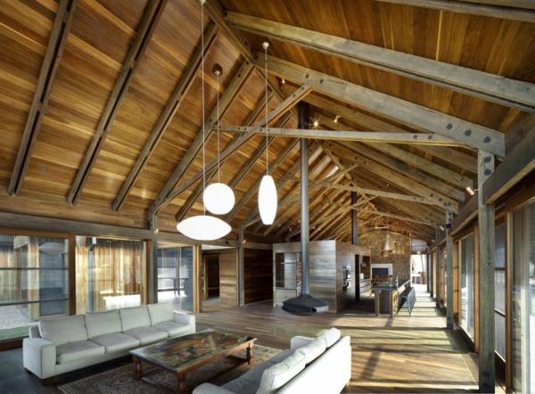 designer familien haus küste sydney sitzort hängeleuchten wohnzimmer