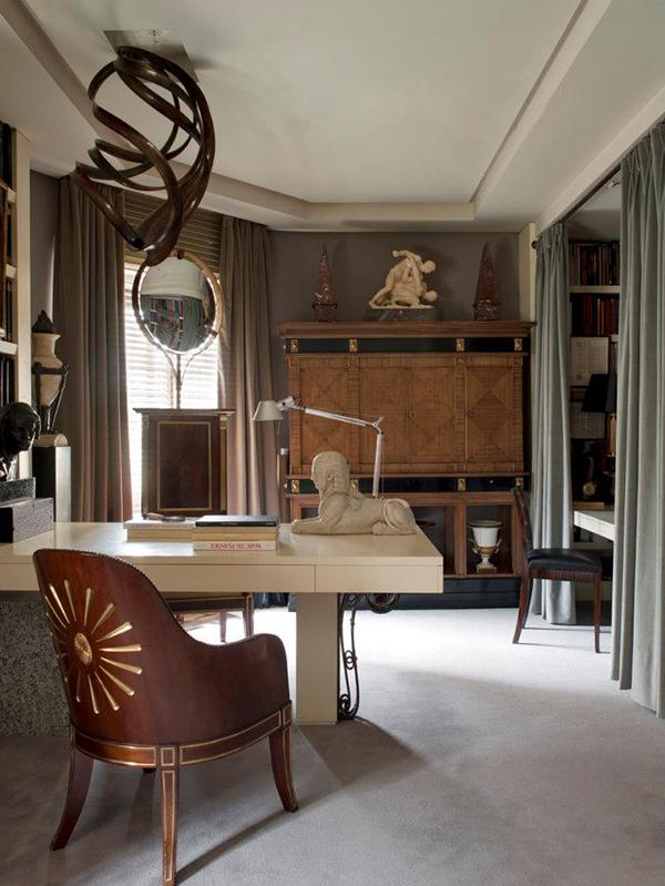 designer  trends standbild neoklassisch bürotisch modern lehnstuhl holz