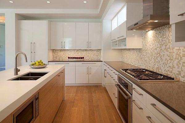designer küchen schränke idee knopf griff kompaktes interior