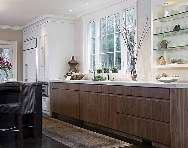 designer küchen schränke idee knopf griff modern arbeitsplatte
