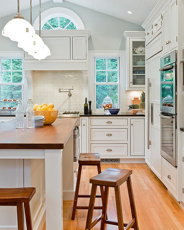 designer küchen schränke idee knopf griff modern holz hocker