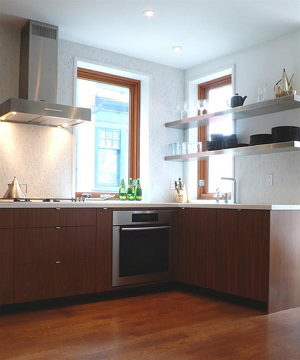 designer küchen schränke idee knopf griff modern holz regale