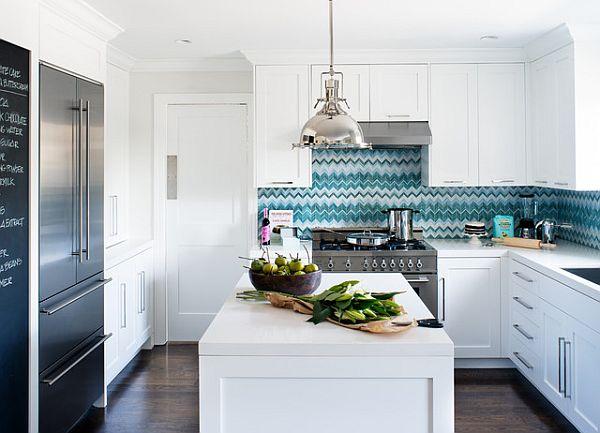 designer küchen schränke idee knopf griff weiß einrichtung