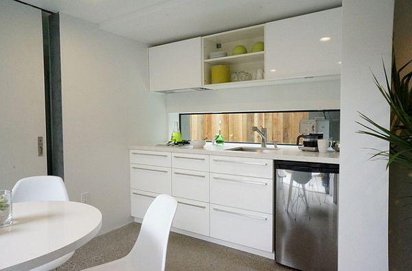 designer küchen schränke idee knopf grif  weiße möblierung