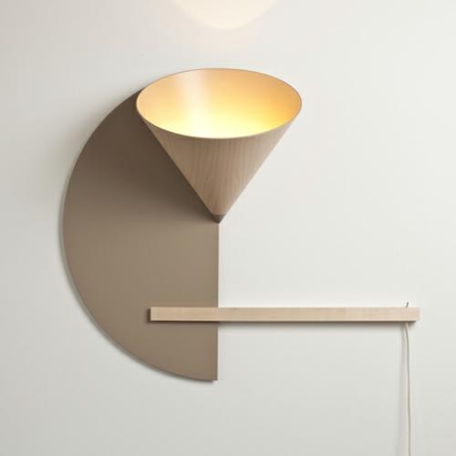 designer möbel kollektion geometrisch farben lampe