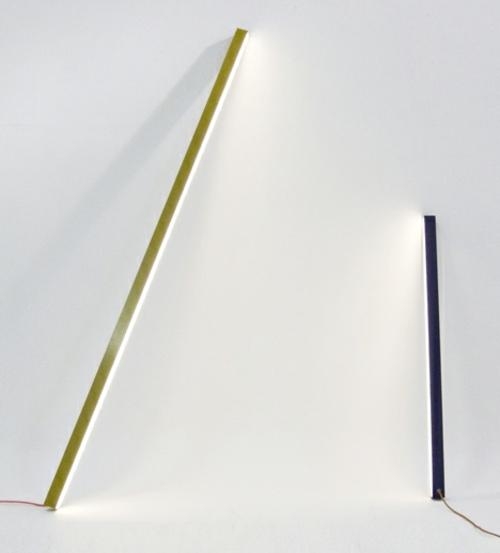 designer möbel kollektion geometrisch farben lampen