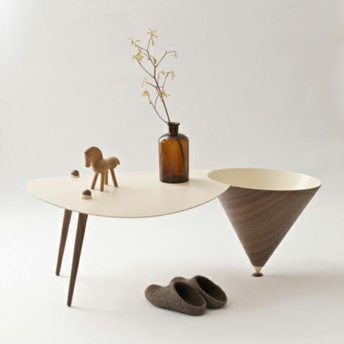 designer möbel kollektion kaffeetisch lampe figuren originell