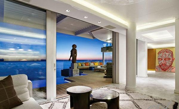 designer neu gestaltetes apartment atlantisch ozean architektur