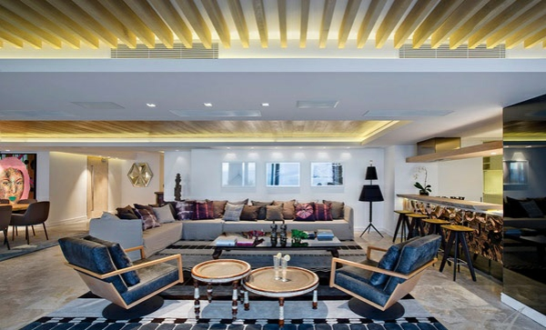 designer neu gestaltetes apartment atlantisch ozean erholung