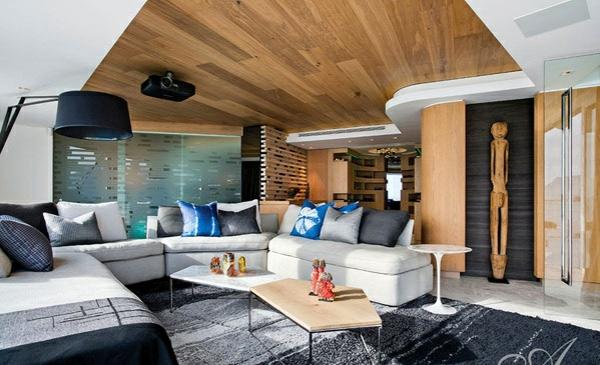 designer neu gestaltetes apartment atlantisch ozean holz decke