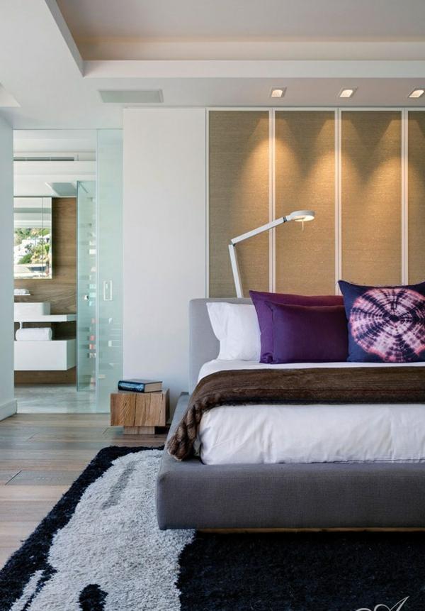 designer apartment atlantisch ozean kopfkissen lila