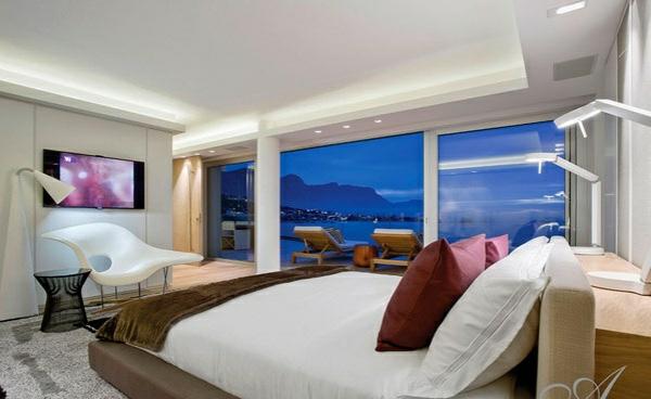 designer neu gestaltetes apartment atlantisch ozean schlafzimmer