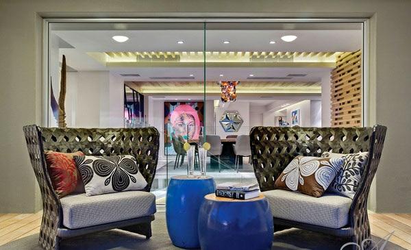 designer neu gestaltetes apartment atlantisch ozean sessel