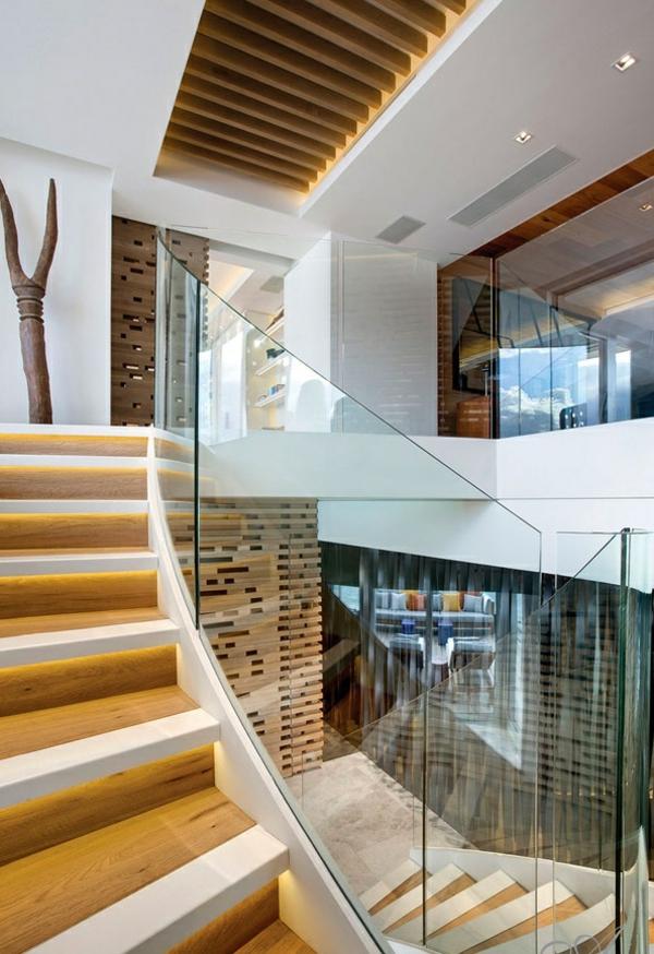 designer neues apartment atlantisch ozean treppe