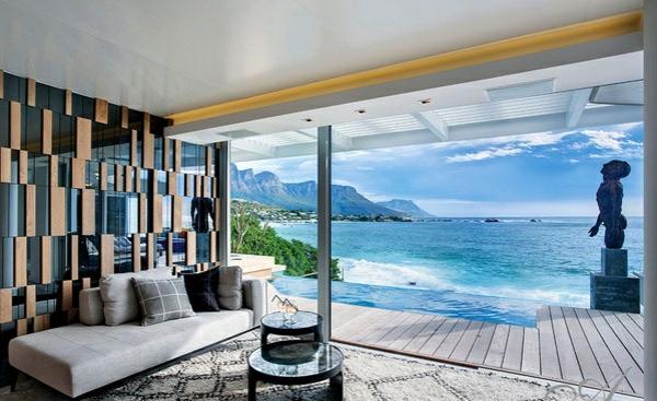 designer neu gestaltetes apartment atlantisch ozean umgebung