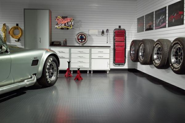 die auto garage anordnen einrichtung tipps nützlich kommode modern