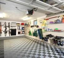 Die auto garage anordnen einige praktische einrichtungstipps - Auto innen dekorieren ...