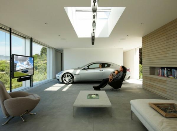 die-auto-garage-anordnen-einrichtung-tipps-wohnzimmer