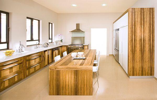 die küche preisgünstig renovieren holz rustikal rau möblierung