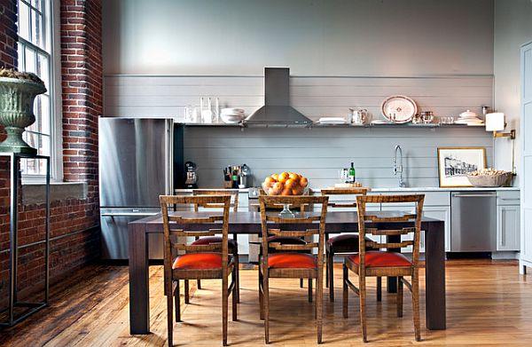 die küche preisgünstig renovieren rustikal landhausstil einrichtung