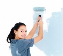 Die Wände zu Hause streichen –  Tipps und Ideen für harmonische Farbkombination
