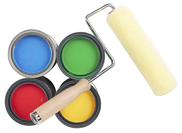 die wände zu hause streichen bürsten glanz farben