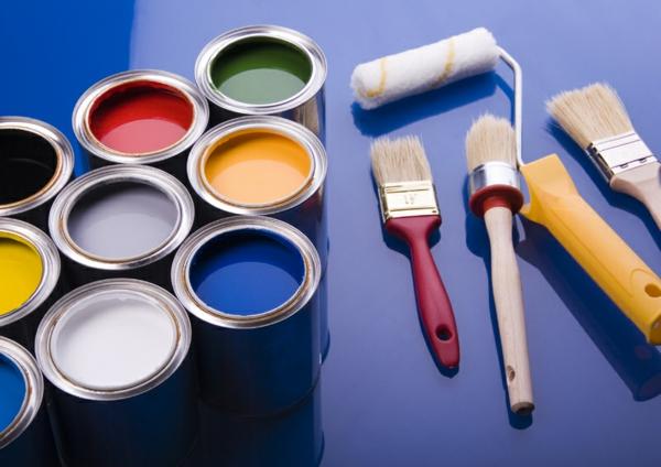 die wände zu hause streichen farben glanz latex